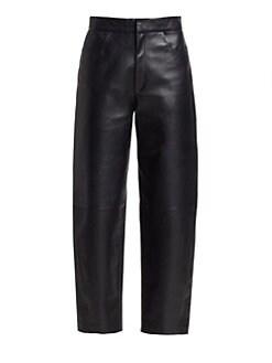 9c8dbd85bd285 Leather & Faux Leather Pants For Women | Saks.com