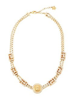 c7d8df81d0aa Greca Swarovski Crystal-Embellished Necklace GOLD. QUICK VIEW. Product image