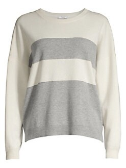 46e9f8183f QUICK VIEW. Peserico. Long-Sleeve Striped Wool