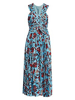 7485e3972d8b Product image. QUICK VIEW. Derek Lam 10 Crosby. Floral Pleated Maxi Dress