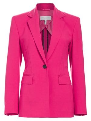 Escada Sport Bimali Double Face Virgin Wool Blend Jacket