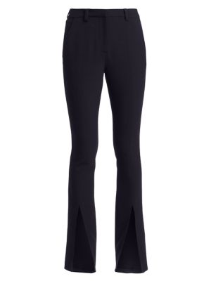 A.l.c Slim-Fit Conway Straight-Leg Front Slit Pants