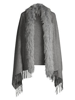 c214fba60 Scarves, Wraps & Shawls For Women | Saks.com