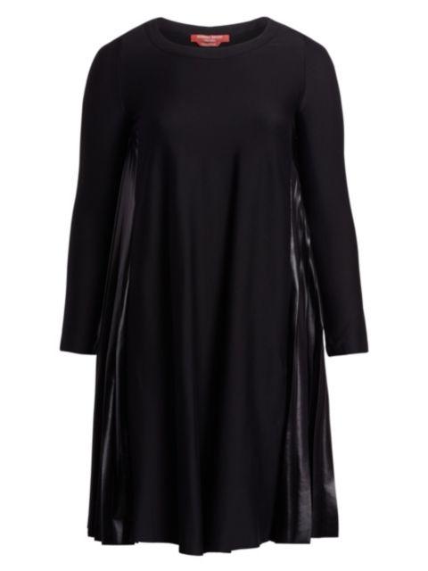 Marina Rinaldi, Plus Size Occupato Mixed Media A-Line Dress | SaksFifthAvenue