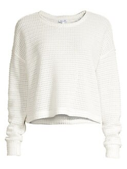 cdeba0190f2443 QUICK VIEW. Splendid. Angler Waffle Knit Sweater
