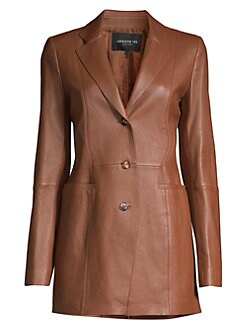 caf2f88024aed Women's Apparel - Coats & Jackets - Leather & Faux Leather - saks.com