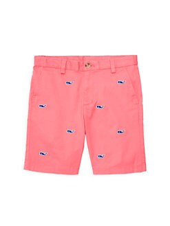 66cfc67f62 QUICK VIEW. Vineyard Vines. Little Boy's & Boy's Whale Embroidered Breaker  Shorts