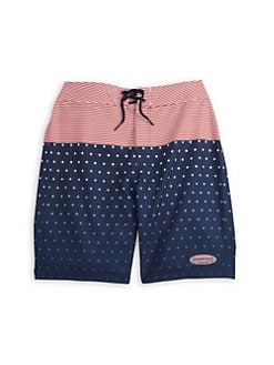 1ac98ef71 QUICK VIEW. Vineyard Vines. Little Boy's & Boy's Stars & Stripes Swim Trunks
