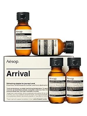 Arrival 4 Piece Travel Kit by Aesop