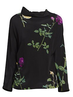 a1665516 Tops For Women: Blouses, Shirts & More | Saks.com