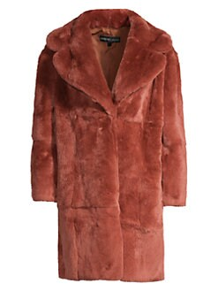 bc6616610882 Product image. QUICK VIEW. Adrienne Landau. Rex Rabbit Fur Coat