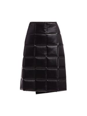 Bottega Veneta Skirts Padded Wrapped Pencil Skirt
