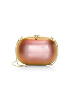 e410303ed42220 QUICK VIEW. Jeffrey Levinson. Elina Sunset Pearl Gloss Clutch