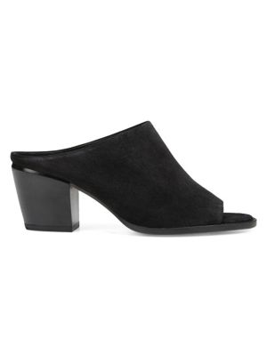 Vince Vedra Suede Mule Sandals