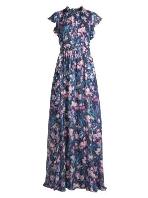 Shoshanna Triana Floral Gown