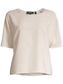d800cc6a01e Tops For Women: Blouses, Shirts & More | Saks.com