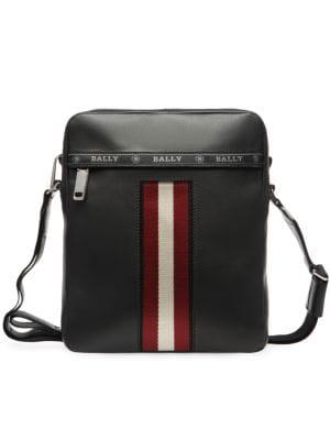 7ce3d4937e1 Valentino Garavani - VLTN Leather Crossbody Bag - saks.com