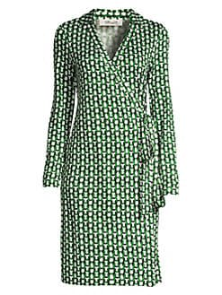 68a234bc90 QUICK VIEW. Diane von Furstenberg. New Jeanne Two Graphic Print Wrap Dress