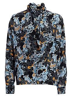 7c517f38 Women's Collard Shirts & Button Downs | Saks.com