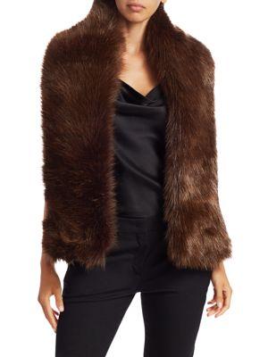 Gucci Scarves Faux Fur Scarf