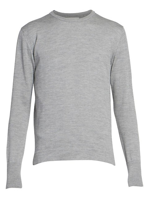 Nina Long Sleeve Wool Crewneck