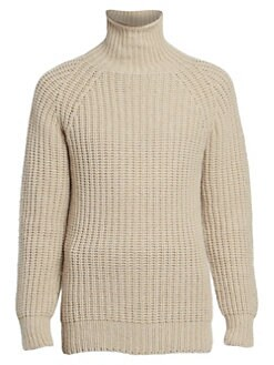 42e6ecf5a29ee6 QUICK VIEW. Officine Generale. Seamless Turtleneck Wool Sweater