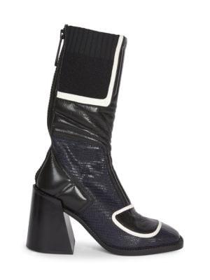 e3002670132d3 Chloé - Rylee Lace-Up Leather Boots - saks.com