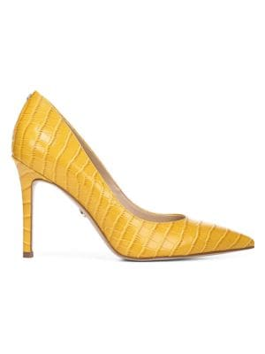 Sam Edelman Pumps Trailblazer Hazel Croco Print Leather Pumps