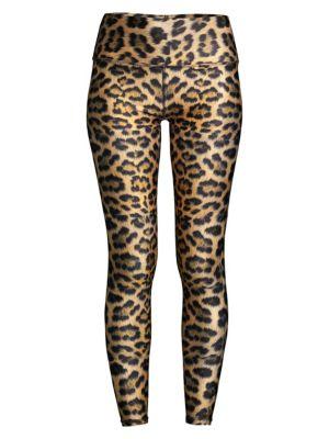 Terez Leopard Goals High Rise Leggings