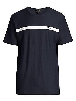 Yukata Cotton T Shirt by A.P.C.
