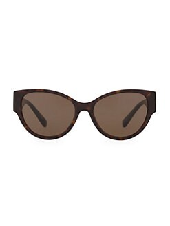 716bf2a2d Versace. 56MM Round Sunglasses