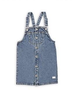 bdbd17d701b96 7 For All Mankind. Little Girl's & Girl's Clueless Denim Pinofore Dress