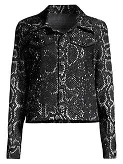 e4bcd0b2f Women's Apparel - Coats & Jackets - Denim Jackets - saks.com