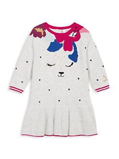 807e4c6020fbf Product image. QUICK VIEW. Catimini. Baby Girl's Dropped-Waist Knit Dress