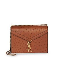 0a8e8aaad15 QUICK VIEW. Saint Laurent. Cassandra Leather Messenger Bag