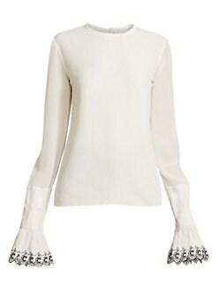 4710720151 Tops For Women: Blouses, Shirts & More   Saks.com