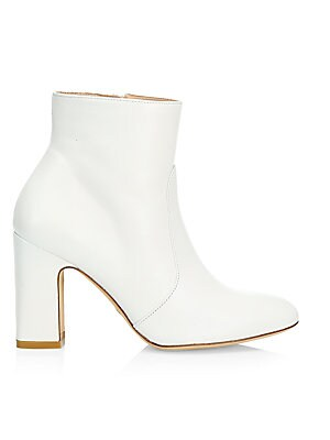 Nell Leather Ankle Boots by Stuart Weitzman
