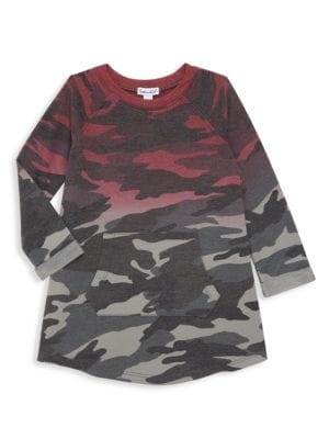 Splendid Little Girl S Dip Dye Camo Dress
