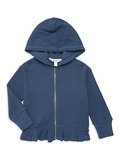 3dffca9ff021 QUICK VIEW. Splendid. Little Girl's Thermal Peplum Hoodie