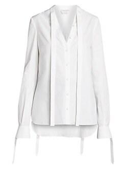 f4cf5e50e66b Women's Collard Shirts & Button Downs | Saks.com