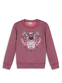 60a0c7dd9 QUICK VIEW. Kenzo. Little Girl's & Girl's Tiger Sweatshirt