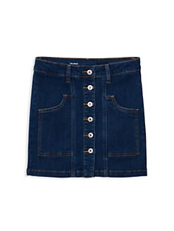 a63e452395 Product image. QUICK VIEW. ag adriano goldschmied kids. Girl's Collette Denim  Mini Skirt