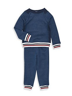 f7b9ce47a49d2 Little Boy's Two-Piece Striped Top & Joggers Set NAVY. QUICK VIEW. Product  image. QUICK VIEW. Splendid