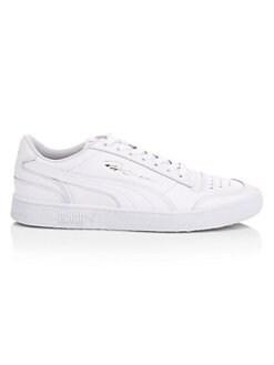 fbb4c16661cf PUMA. Ralph Sampson Leather Low-Top Sneakers