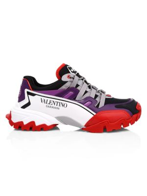 Valentino Sneakers Climber Leather Sneakers