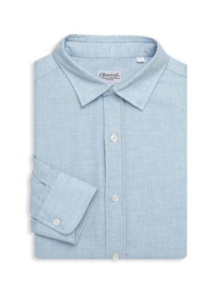 Charvet Button Down Woven Shirt