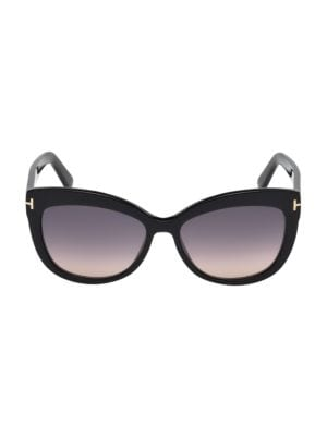 Tom Ford Alistair 56mm Polarized Lens Cat Eye Sunglasses