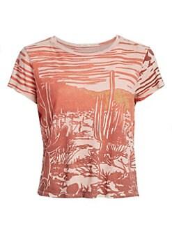 fea132fad31d4f Women's T-Shirts & Tank Tops | Saks.com