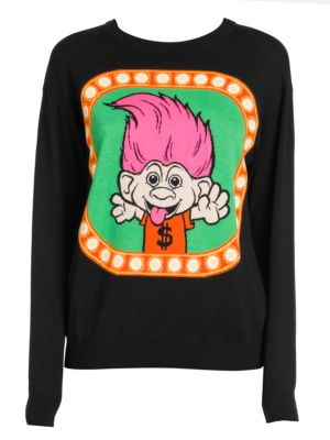 Moschino Troll Crewneck Sweater