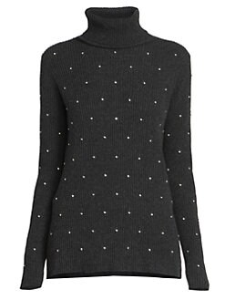 204bab833d Marc Jacobs. Runway Strass Embroidered Rib-Knit Turtleneck Sweater